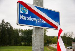 Rondo im. Narodowych Sił Zbrojnych w Dąbrowie Wielkiej