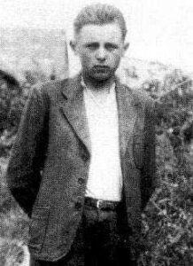 """Jerzy Żebrowski ps. """"Konar""""."""