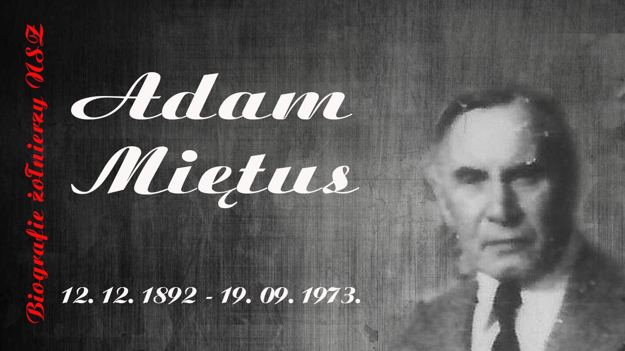 Adam Józef Mietus.