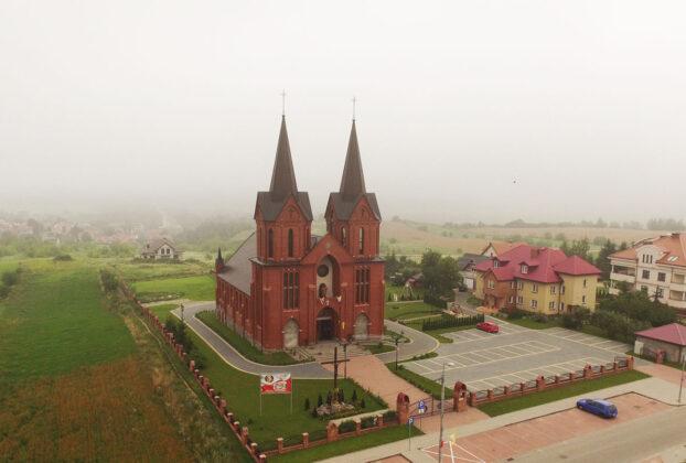 Kościół pw. św. Andrzeja Boboli w Łomży.