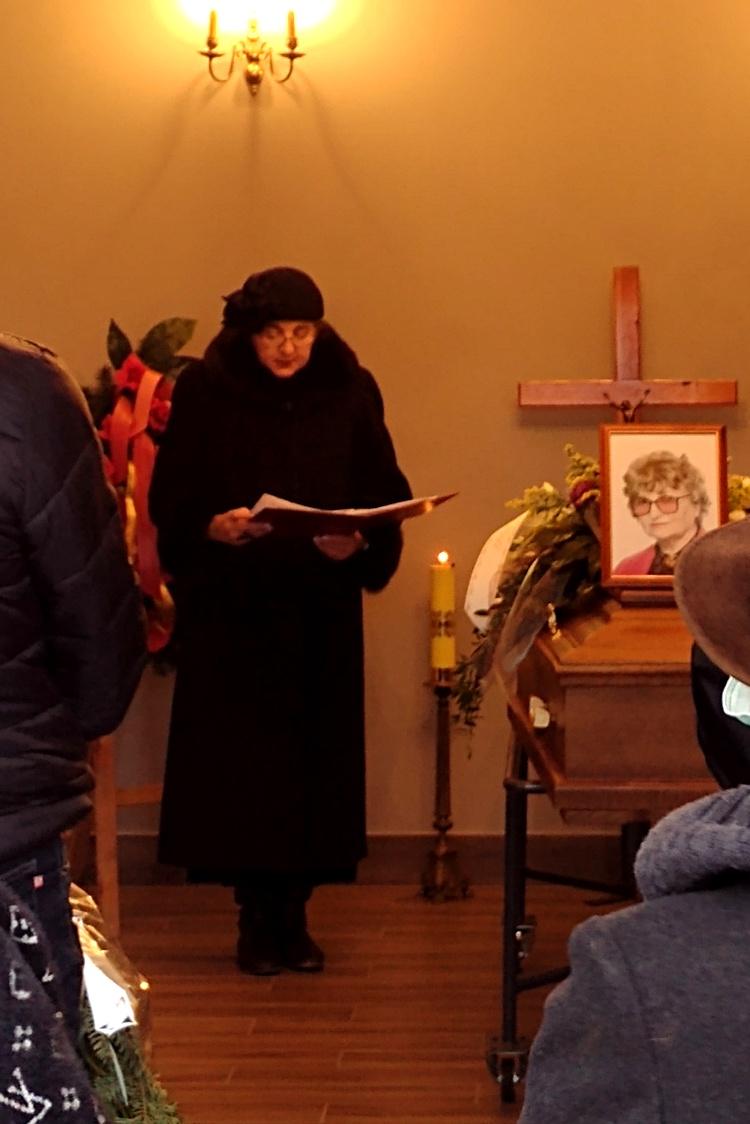 Uroczystości pogrzebowe Krystyny Kołacińskiej