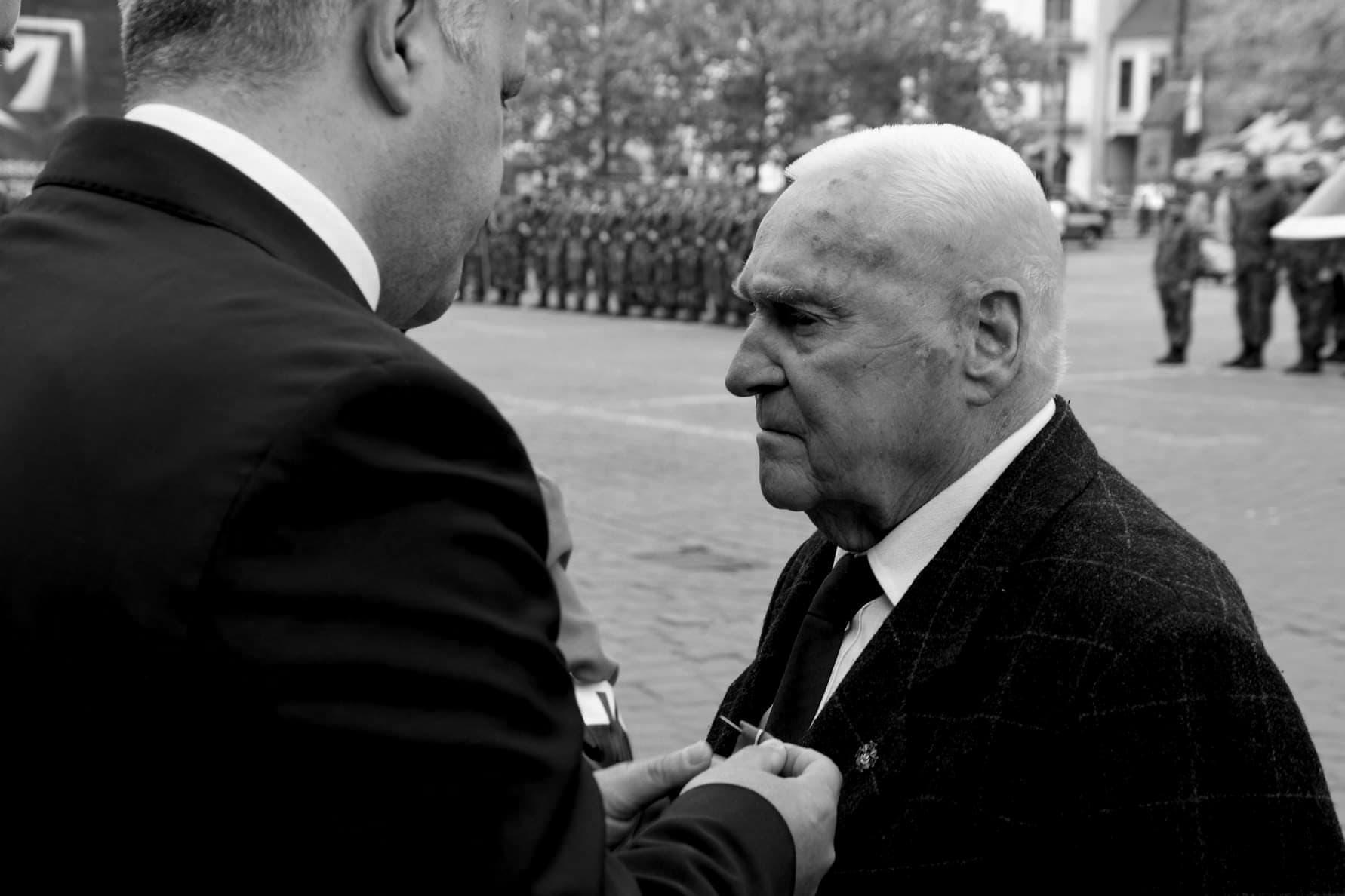 """Kpt. Michał Maciaszek ps. """"Łysy""""."""